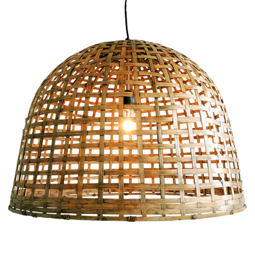 Bamboe bell large for Lampen xenos