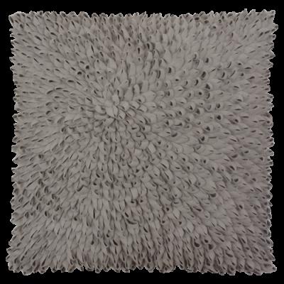 355-lichtgrijs:3-wolvilten kussen loops (60x60cm)-1