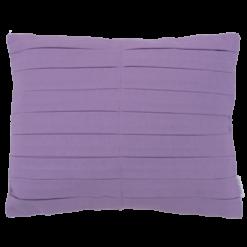 Grote vouw katoen paars kussen hinck amsterdam woonaccessoires met bijzondere texturen met oog voor detail van een hoge kwaliteit