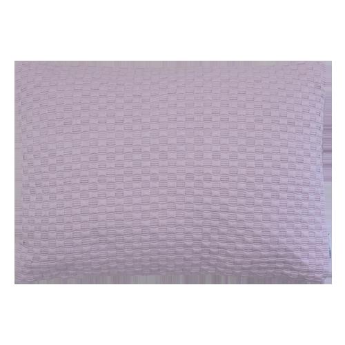 Grove weving roze medium kussen hinck amsterdam woonaccessoires met bijzondere texturen met oog voor detail van een hoge kwaliteit