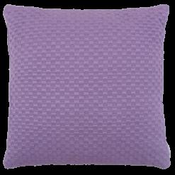 grove weving paars large kussen hinck amsterdam woonaccessoires met bijzondere texturen met oog voor detail van een hoge kwaliteit