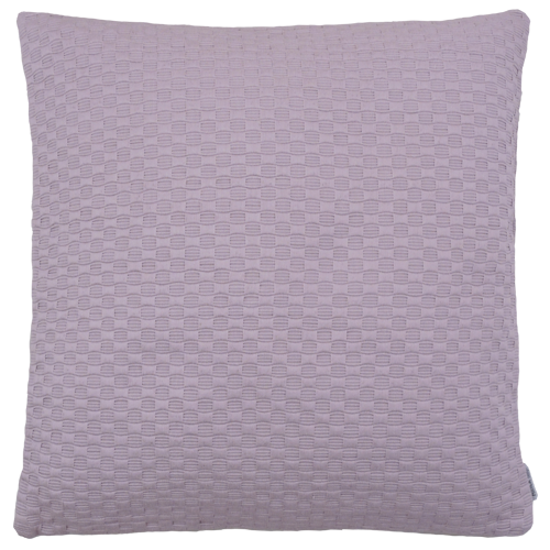 Grove weving roze large kussen hinck amsterdam woonaccessoires met bijzondere texturen met oog voor detail van een hoge kwaliteit