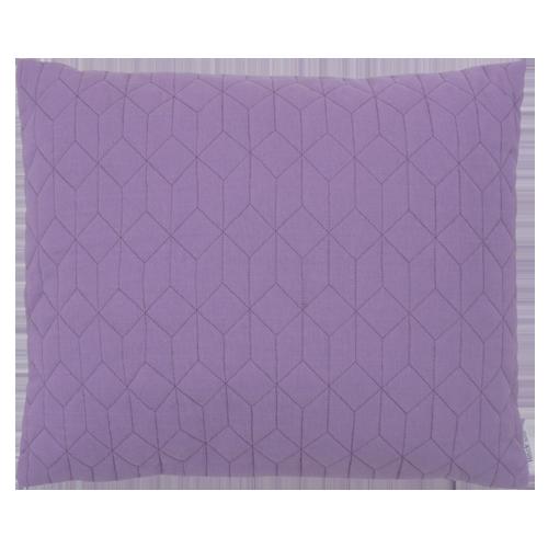 Flow chart paars kussen hinck amsterdam woonaccessoires met bijzondere texturen met oog voor detail van een hoge kwaliteit