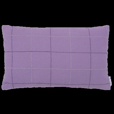 455-paars-katoen kussen lijnenspel (35x55cm)-1