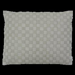 linnen geweven natural kussen hinck amsterdam woonaccessoires met bijzondere texturen met oog voor detail van een hoge kwaliteit