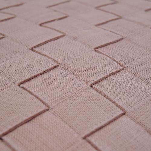 463-linnen roze-linnen kussen geweven (55x45cm)-2