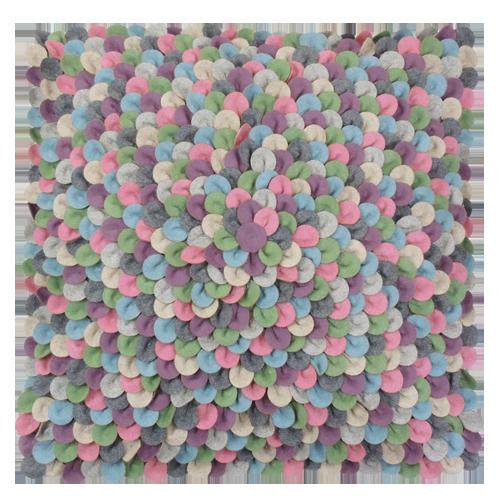 465-mixed color-wolvilten kussen chips mixed (60x60cm)-1