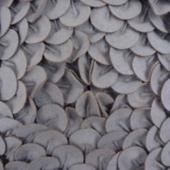 470-grijs-wolvilten kussen chip mess (45x45cm)-2