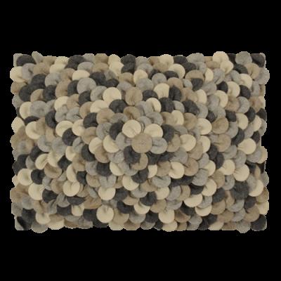 467-mixed grijs-wolvilten kussen chips mixed (35x50cm)-1