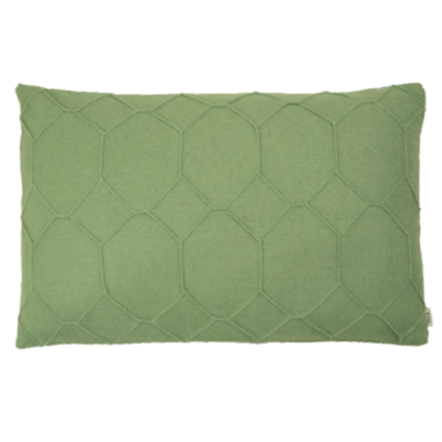 Basic fold groen geel hinck kussen groen woonaccessoires - Kussen voor ontlasting ...