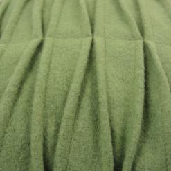 507-groen-wolvilten kussen wave (55x35cm)-2