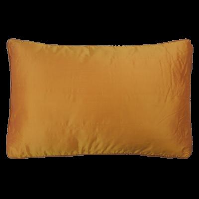 499-sunset yellow-zijde kussen (40x60cm)-1