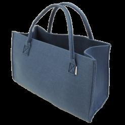 342-blauw-vilten hengselmand (52x25x30cm)-1