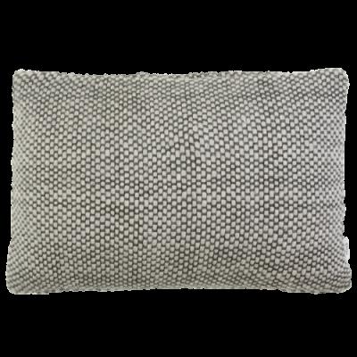 523-charcoal-kussen gebreid diamond stitch (50x35cm)-1