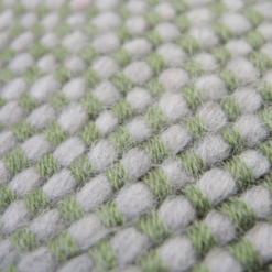 523-groen-kussen gebreid diamond stitch (50x35cm)-2