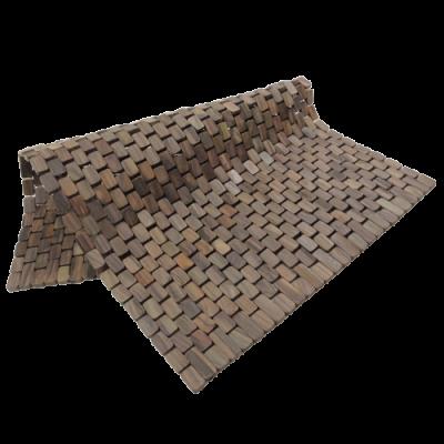 306 - palissander badmat vierkantje 1