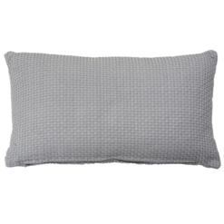 dobby grijs small kussen hinck amsterdam woonaccessoires met bijzondere texturen met oog voor detail van een hoge kwaliteit