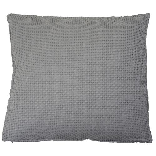 dobby grijs large kussen hinck amsterdam woonaccessoires met bijzondere texturen met oog voor detail van een hoge kwaliteit