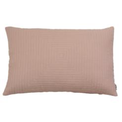 Hypnose linnen pale pink kussen hinck amsterdam woonaccessoires met bijzondere texturen met oog voor detail van een hoge kwaliteit