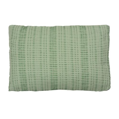 baseline mint green small kussen hinck amsterdam woonaccessoires met bijzondere texturen met oog voor detail van een hoge kwaliteit