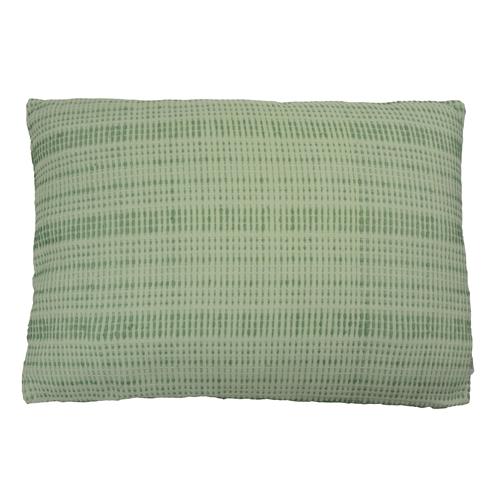 baseline mint green large kussen hinck amsterdam woonaccessoires met bijzondere texturen met oog voor detail van een hoge kwaliteit