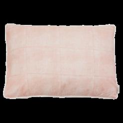 Voile sunset kussen hinck amsterdam woonaccessoires met bijzondere texturen met oog voor detail van een hoge kwaliteit