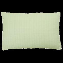 Wieber mintgreen small kussen hinck amsterdam woonaccessoires met bijzondere texturen met oog voor detail van een hoge kwaliteit