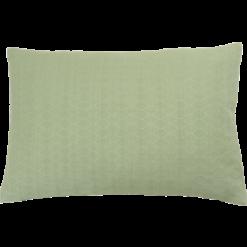 Wieber oilgreen medium kussen hinck amsterdam woonaccessoires met bijzondere texturen met oog voor detail van een hoge kwaliteit