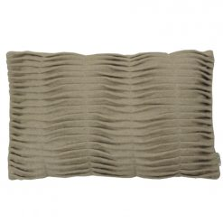 small wave beige kussen hinck amsterdam woonaccessoires met bijzondere texturen met oog voor detail van een hoge kwaliteit