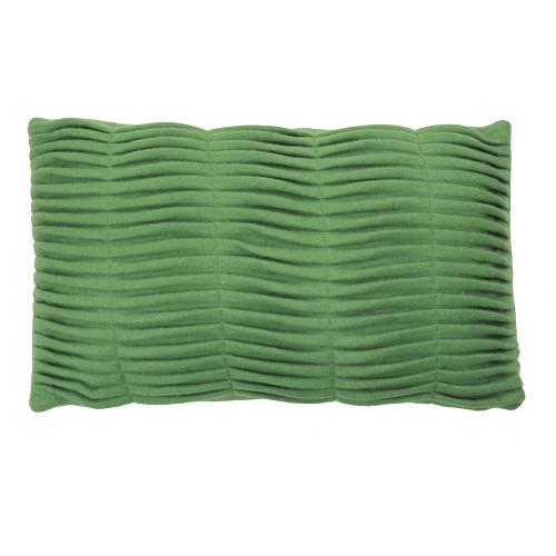 small wave green kussen hinck amsterdam woonaccessoires met bijzondere texturen met oog voor detail van een hoge kwaliteit