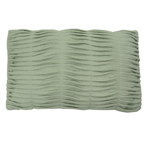 small wave mint green kussen hinck amsterdam woonaccessoires met bijzondere texturen met oog voor detail van een hoge kwaliteit