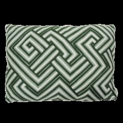 bandage green kussen hinck amsterdam woonaccessoires met bijzondere texturen met oog voor detail van een hoge kwaliteit