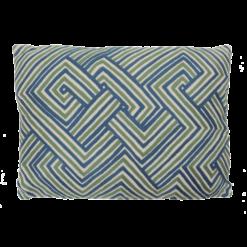 bandage green blue hinck amsterdam woonaccessoires met bijzondere texturen met oog voor detail van een hoge kwaliteit