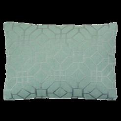marokkaans borduur old green kussen hinck amsterdam woonaccessoires met bijzondere texturen met oog voor detail van een hoge kwaliteit