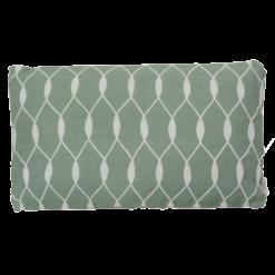 entwined old green kussen hinck amsterdam woonaccessoires met bijzondere texturen met oog voor detail van een hoge kwaliteit