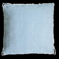 Chess blauw wit medium kussen hinck amsterdam woonaccessoires met bijzondere texturen met oog voor detail van een hoge kwaliteit