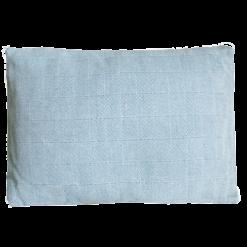 Chess blauw wit small kussen hinck amsterdam woonaccessoires met bijzondere texturen met oog voor detail van een hoge kwaliteit