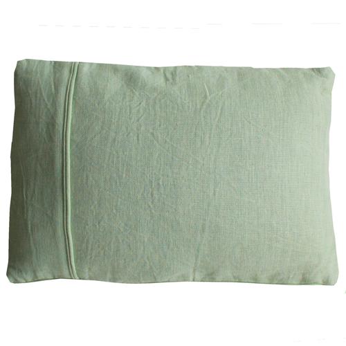 Basic piping mint green small kussen hinck amsterdam woonaccessoires met bijzondere texturen met oog voor detail van een hoge kwaliteit