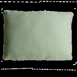 Basic piping mint green large kussen hinck amsterdam woonaccessoires met bijzondere texturen met oog voor detail van een hoge kwaliteit