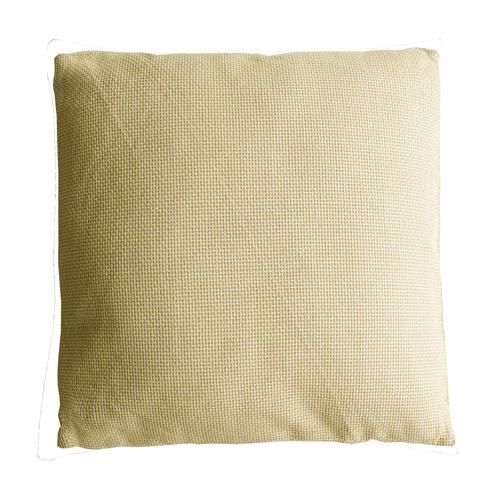 Melange ocre large geel ocre oker ochre kussen hinck amsterdam linnen 60x60 cm woonaccessoires met bijzondere texturen met oog voor detail, handgemaakt en of handgeweven