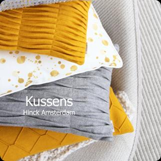 kussens knop shop hinck amsterdam woonaccessoires met bijzondere texturen met oog voor detail van een hoge kwaliteit