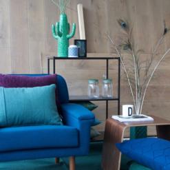 Interieur inspiratie groen blauw donkerblauw paars kussens nieuwste trend vernieuwend hinck amsterdam woonaccessoires