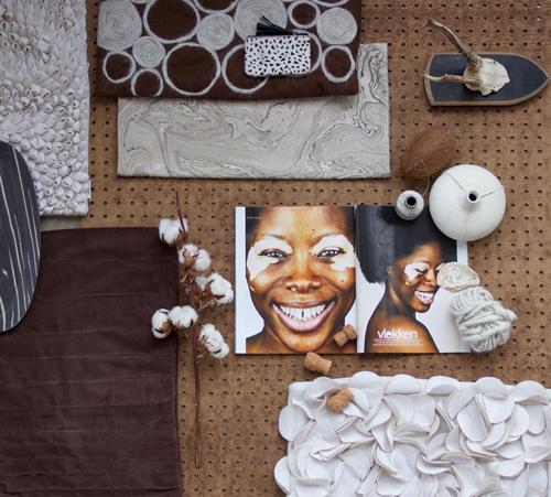 Interieur inspiratie naturel bruit taupe beige wit moodboard nieuwste trend kussens vernieuwend hinck amsterdam woonaccessoires