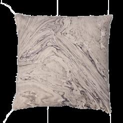 Marble grey grijs naturel taupe beige marmer goud kussen hinck amsterdam katoen digital printing 50x50cm woonaccessoires