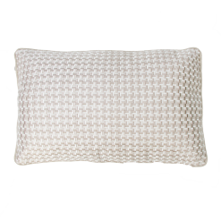 Richstitch natural kussen naturel wit lichtgrijs beige hinck amsterdam linnen hand geborduurd 35x55cm woonaccessoires met bijzondere texturen met oog voor detail, handgemaakt en of handgeweven