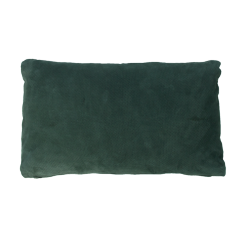 Suede leren kussen donker groen green hinck amsterdam leer 30x50cm woonaccessoires met bijzondere texturen met oog voor detail, handgemaakt en of handgeweven