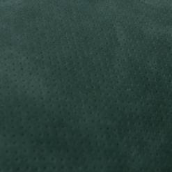 Suede leren kussen donker groen green detail hinck amsterdam leer 30x50cm woonaccessoires met bijzondere texturen met oog voor detail, handgemaakt en of handgeweven
