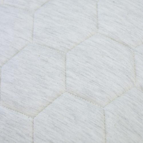 jersey hexagon puff ivory detail kussen naturel grijs taupe hinck amsterdam jersey 50x50cm woonaccessoires met bijzondere texturen met oog voor detail, handgemaakt en of handgeweven