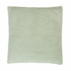 Jersey string dewgreen katoen jersey/linnen kussen mint groen zacht hinck amsterdam jersey 40x40cm woonaccessoires met bijzondere texturen met oog voor detail, handgemaakt en of handgeweven
