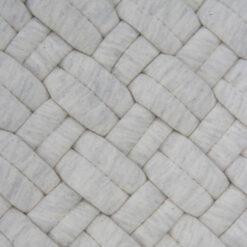 wicker ivory detail kussen creme wit naturel hinck amsterdam jersey 40x40cm woonaccessoires met bijzondere texturen met oog voor detail, handgemaakt en of handgeweven